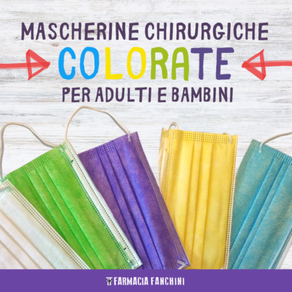mascherine colorate